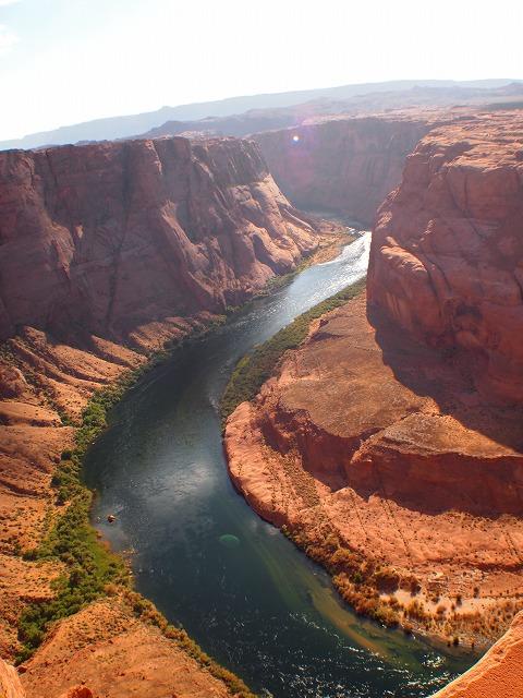 上から見たコロラド川