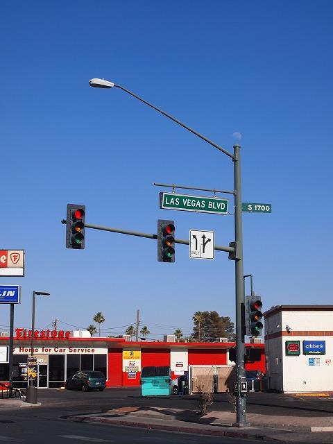 ラスベガスブルーバードの標識