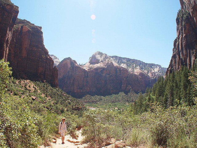 国立公園の大自然
