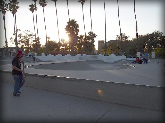 スケーター達の集まり。カッコイイ