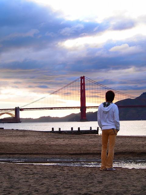 サンフランシスコの夕焼け