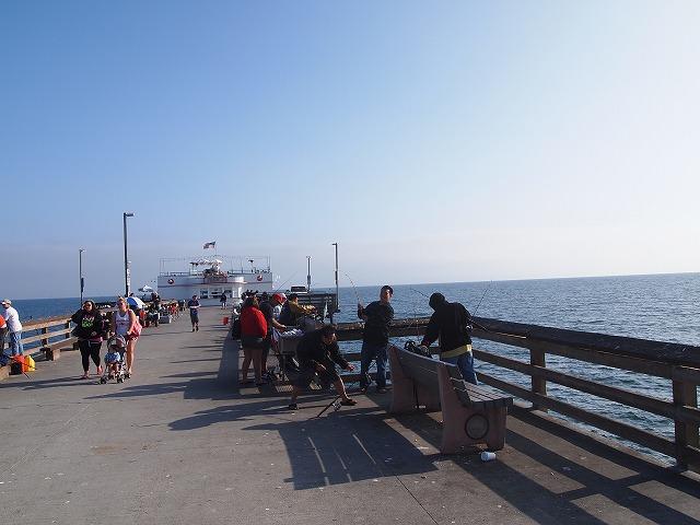 ニューポートビーチの橋