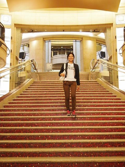 コダック・シアターの階段
