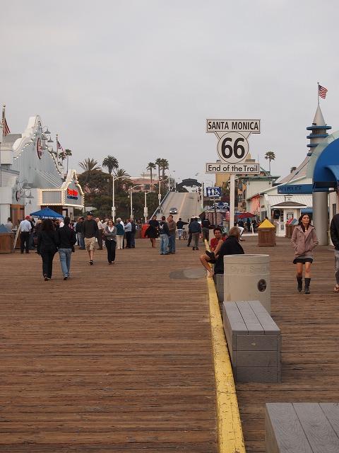 サンタモニカビーチの桟橋