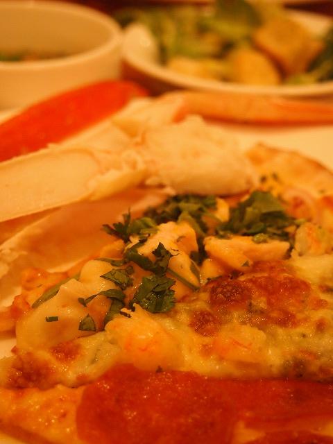 カニ&ピザ