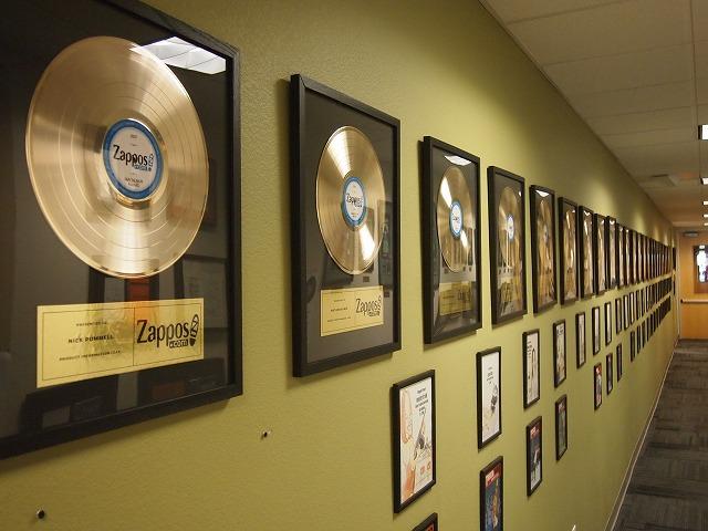 zapposのゴールドディスク