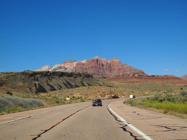 遠くに見える国立公園