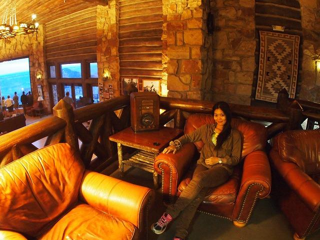 暖かなホテル