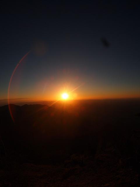 グランドキャニオンの朝日