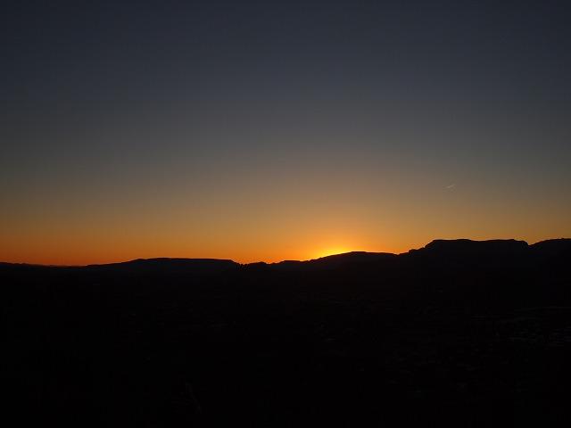 ボルテックスの力と夕日のパワー