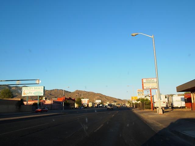 アルバカーキーの町の入口