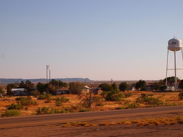 インターステートから見える田舎風景